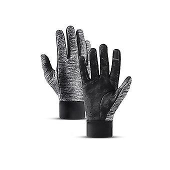 Outdoor Sports Running Rękawice, Ciepły ekran dotykowy Siłownia Fitness Full Finger Rękawiczki