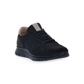 Frau blue nylon shoes