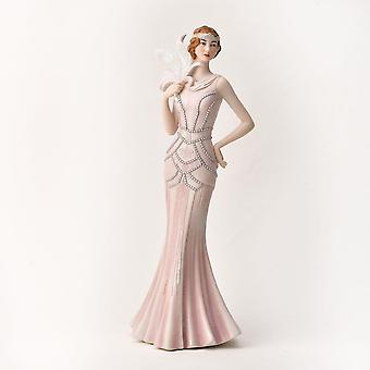 Widdop & Co. Broadway Belles Heather Pink Blush Figurine