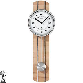 Horloge murale d'Atlanta 5104/30 horloge radio-murale avec pendule erl optique pendule pendule
