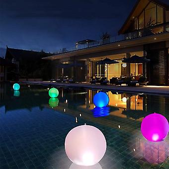 Inflatable Beach Ball, Waterproof Flashing Remote Control Led, Light Color