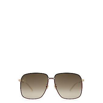 Gucci GG0394S guld kvindelige solbriller