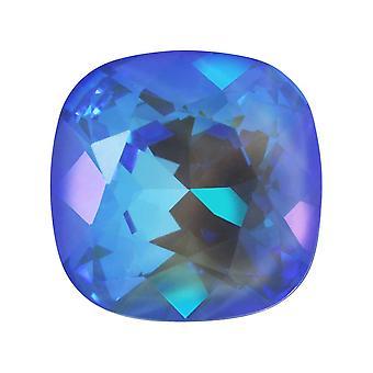 Swarovski Crystal, #4470 tyyny Fancy Stone 12mm, 1 osa, Crystal Ocean DeLite