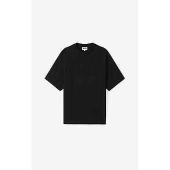 Kenzo man black short-sleeved T-shirt