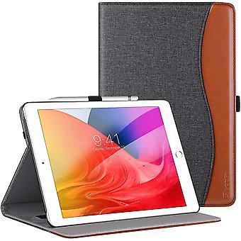 FengChun Hülle für iPad 10.2 2019 und iPad 10.2 2020,Premium Leder Mehrfachwinkel