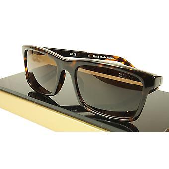 ZILLI Solglasögon Polariserad HandGjord Acetate Titanium Frankrike ZI 65009 C02