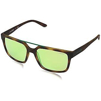 Arnette 0AN4231 21528N 57 Sunglasses, Green (Havana Rubber), Men's