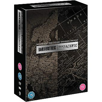 Pacific Band of Brothers Limited Edition Lahjasarja HBO DVD