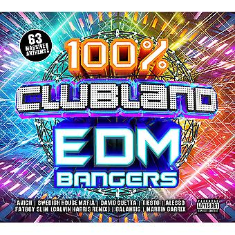 100% Clubland - EDM Bangers CD