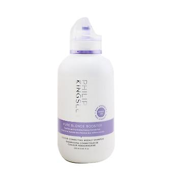 Philip Kingsley Pure Blonde Booster Colour- Correcting Weekly Shampoo 250ml/8.45oz