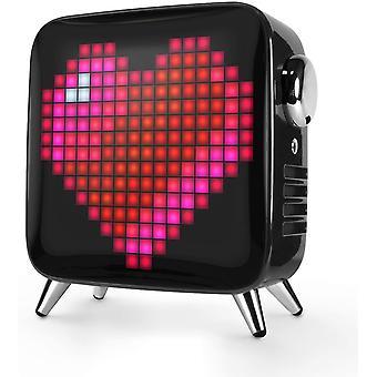 Divoom Tivoo Max Pixel LED Art Głośnik Bluetooth z mocą wyjściową 40W, wbudowaną baterią i inteligentną aplikacją, czarny