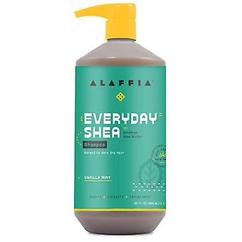 Alaffia Shampoo Vanilla Mint, 32 Oz