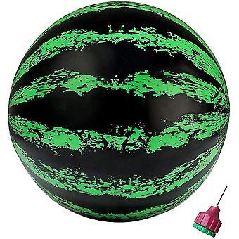 Watermeloen bal zwembad bal float onderwater passeren speelgoed partij zwembad spel (groen)