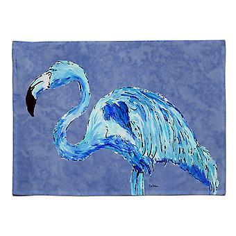 Caroline's Treasures 8873PLMT Flamingo auf Schieferblau stoff Tischset, mehrfarbig