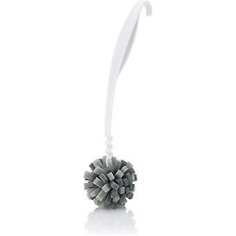 0093.010.030 Kannenreiniger cleanFix, 30 cm, Speziell geformte Mircroschaunbürste für schonende,