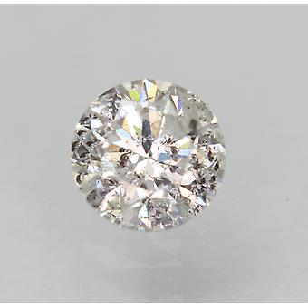 Certificado 0.42 Quilate D Cor SI2 Redondo Brilhante Natural Diamante Solto 4.7mm