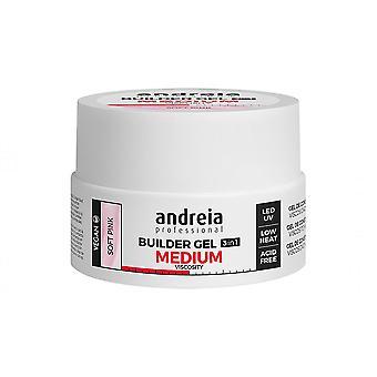 Neglegel Medium Viskositet Andreia Pink (22 g)