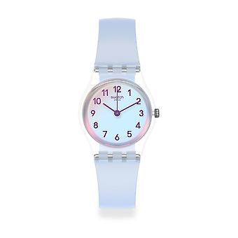 Swatch Lk396 casual blå silikon klocka