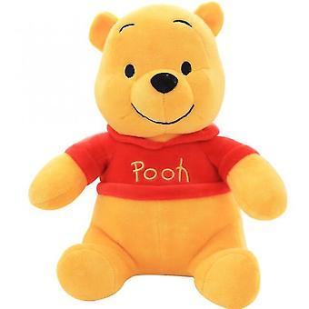 Animales de peluche 25cm genuino disney winnie the pooh plush cartoon bear original lindo suave felpar modelo de acción juguete de cumpleaños para niños