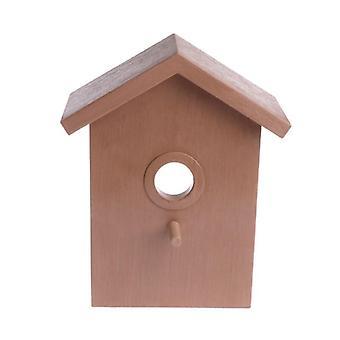בית ציפור לבלוע עשה זאת בעצמך קן קישוט הבית בחוץ רבייה קוקטילים תיבת גג| כלובי ציפורים וקנים