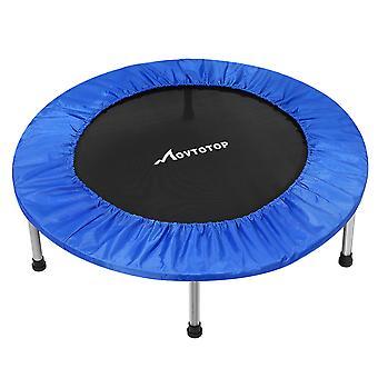 """38"""" Movtotop vouwen indoor mini trampoline rebounder voor volwassenen kids fitness"""