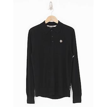 Ted Baker Wembley Long Sleeve Polo - Black