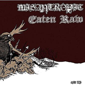 Misantropic / Eaten Raw - Split [Vinyl] USA import