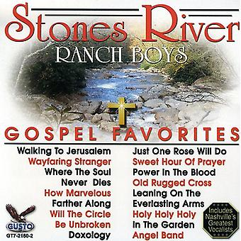 Stones River Ranch Boys - Gospel Favorites [CD] USA import