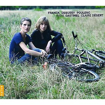 Franck/Debussy/Poulenc - French Music for Cello & Piano [CD] USA import