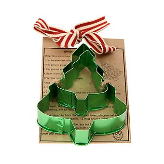 Dexam Made with Love Cookie Cutter Set, Christmas Tree