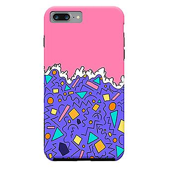 ArtsCase Designers casos as ondas de formas para iPhone dura 8 Plus / iPhone 7 Plus