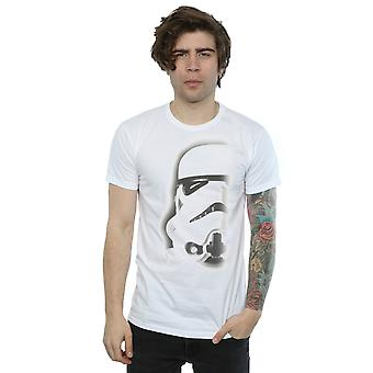 Star Wars Men's Stormtrooper Face T-Shirt