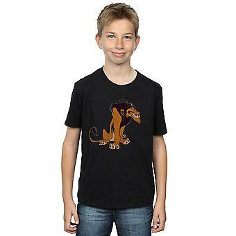 ディズニー男の子ライオン王古典的な傷 t シャツ
