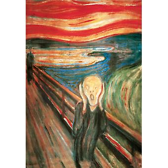 Munch Scream Poster Print The Scream Poster Poster Print