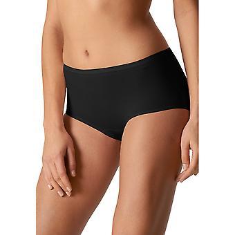 Organique solide noir culottes Panty bref Mey 29817-3 féminines