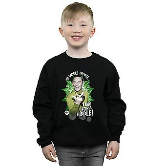 DC Comics Boys Batman TV Series The Riddler Time for a Riddle Sweatshirt