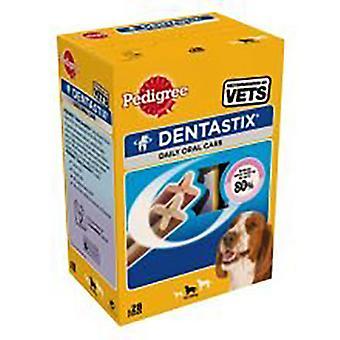 Pedigree Dentastix traktaties voor middelgrote honden
