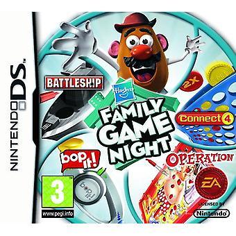Hasbro Familie Game Night Volume 1 (Nintendo DS) - Fabrik versiegelt