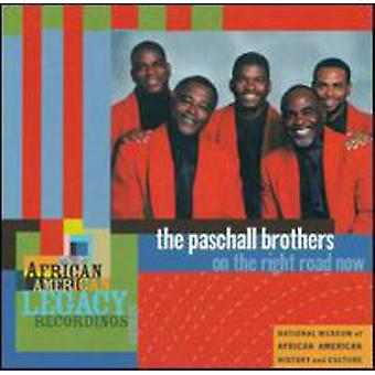 Paschall Brothers - On the Right Road Now: African American [CD] USA import