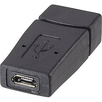 Renkforce USB 2.0 Adapter [1x USB 2.0 port A - 1x USB 2.0 port Micro B] rf-usba-01