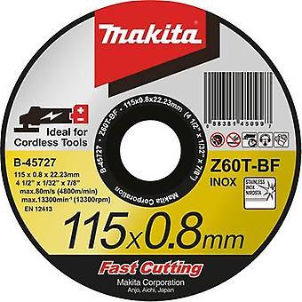 Makita B-45727 slijpschijf (straight) 115 mm 22,23 mm 1 PC (s)