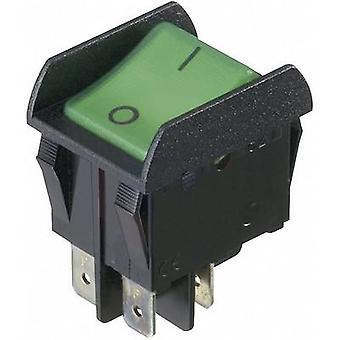interBär Toggle switch 3652-851.22 250 V AC 16 A 2 x Off/On latch 1 pc(s)