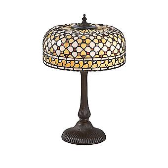 Interiors 1900 Mille Feux Single Light Table Lamp With