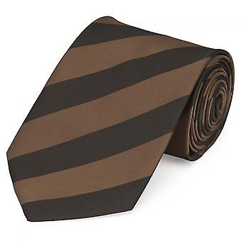 Tie slips tie slips 8cm brun randig Fabio Farini