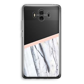 Huawei Mate 10 caso transparente (Soft) - um toque de pêssego