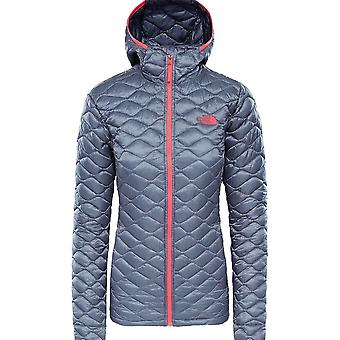 North Face Women's Thermoball Hoodie - TNF Black Matte