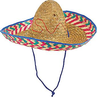 Mexican Hat natural Hat accessories Halloween Carnival