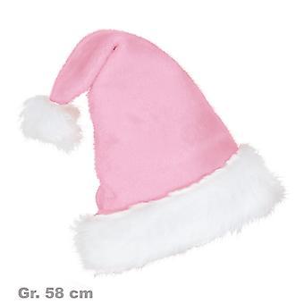 Rose en peluche chapeau Santa Hat Noël Noël
