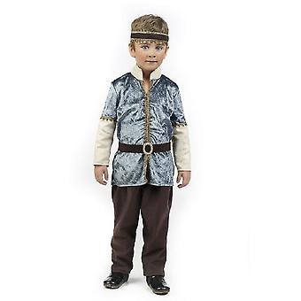 Koning Manrique Mittalterlicher koning kind kostuum Edelmann