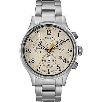 Timex miesten watch liittoutuneiden chronograph 42 mm rannekoru TW2R47600